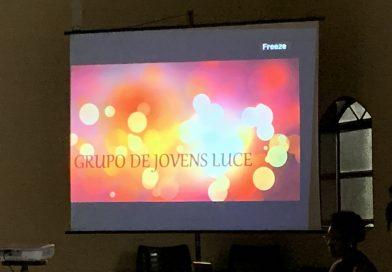 """Encontro do Grupo de Jovens """"Luce"""" com os crismados 2019"""